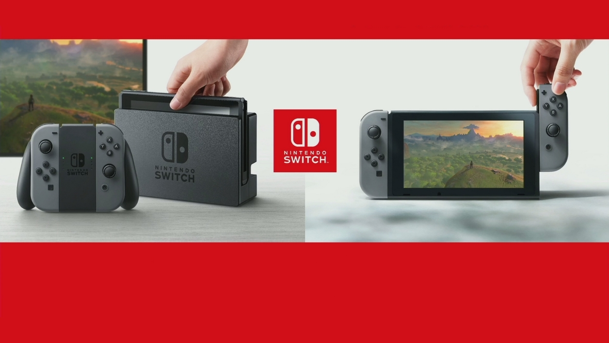 Switch : la nouvelle console de Nintendo sera disponible le 3 mars