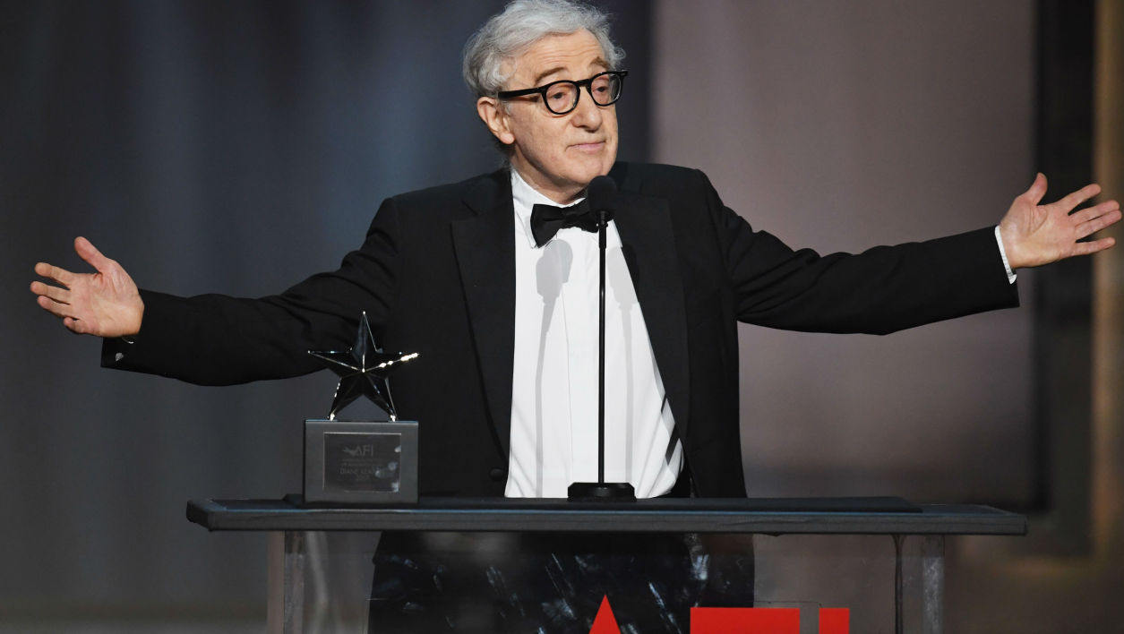 Woody Allen au Dolby Theatre à Hollywood, le 8 juin 2017