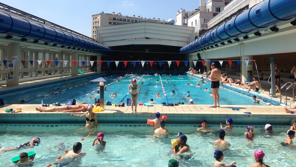Les 5 plus belles piscines de paris for Porte de piscine