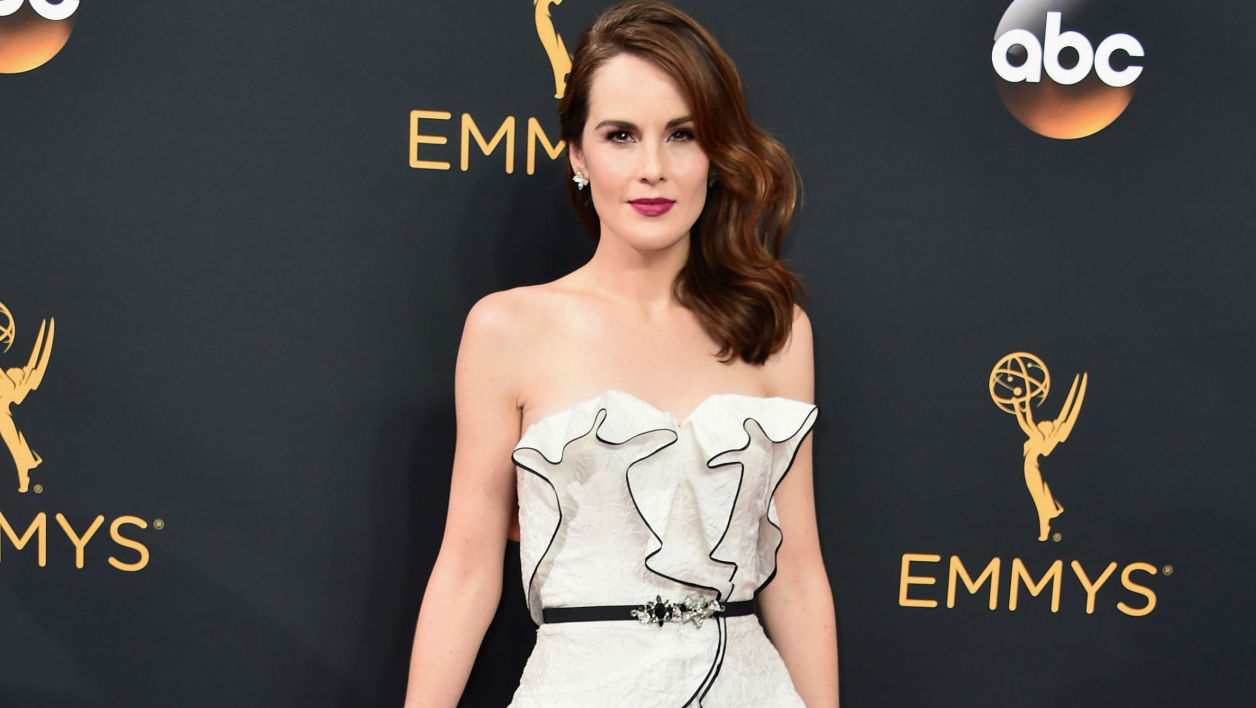 Michelle Dockery lors des Emmy Awards à Los Angeles en 2016