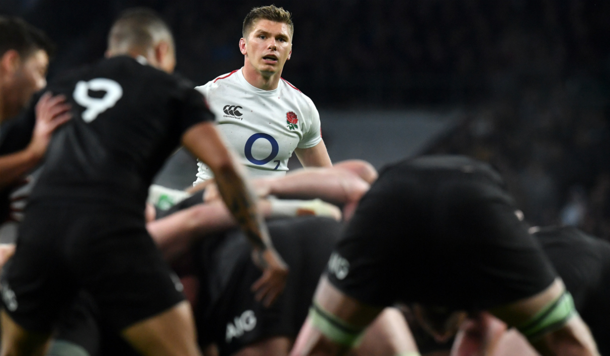 Owen Farrell face aux All Blacks