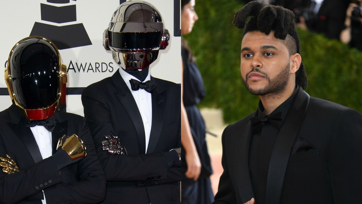 Les Daft Punk et The Weeknd.