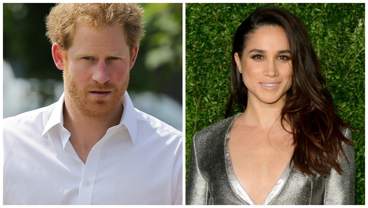 Le prince Harry / L'actrice Meghan Markle