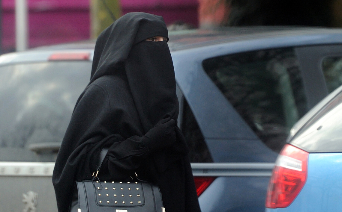 Une femme en niqab (photo d'illustration).