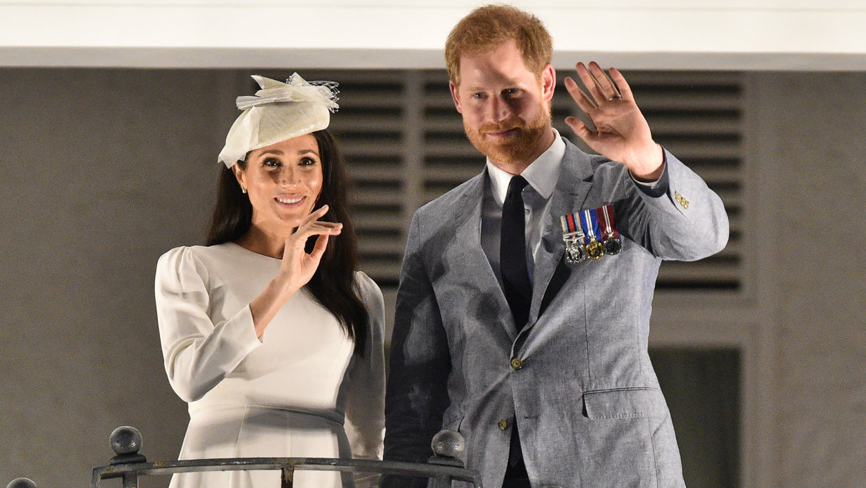 Couple Harry et Meghan