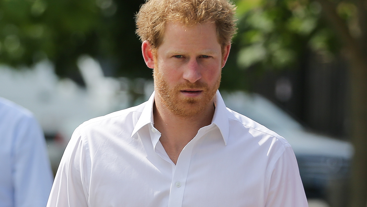 Le Prince Harry en juin 2016