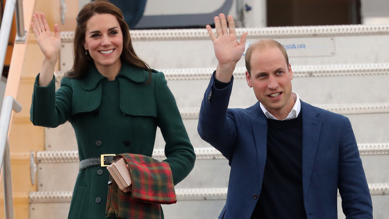 Kate Middleton au côté du prince William au Canada le 27 septembre 2016.