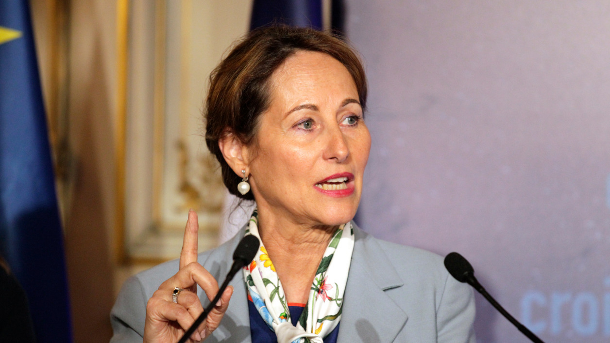 Ségolène Royal le 26 mai 2015, à Paris.