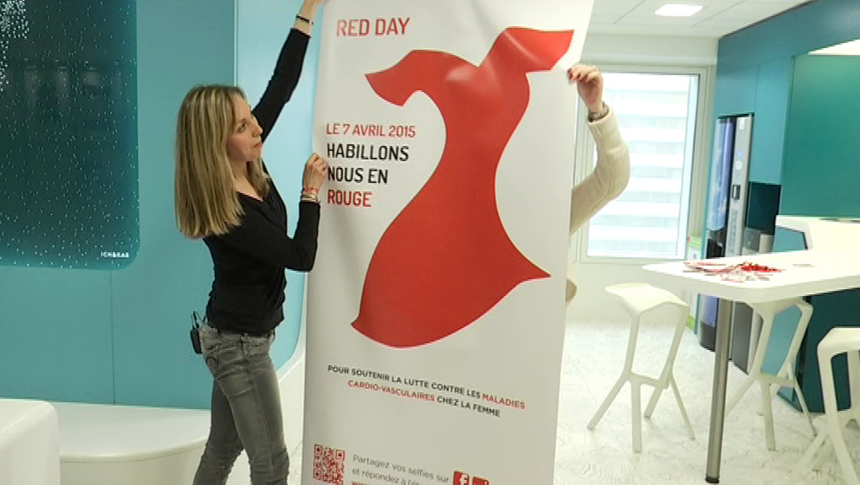 Red day, cardiovasculaire, santé, go red for woman