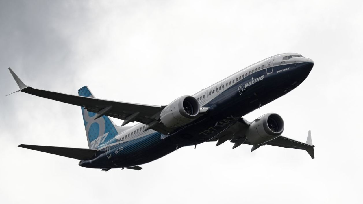 L'actuel 737-Max de Boeing (photo d'illustration)