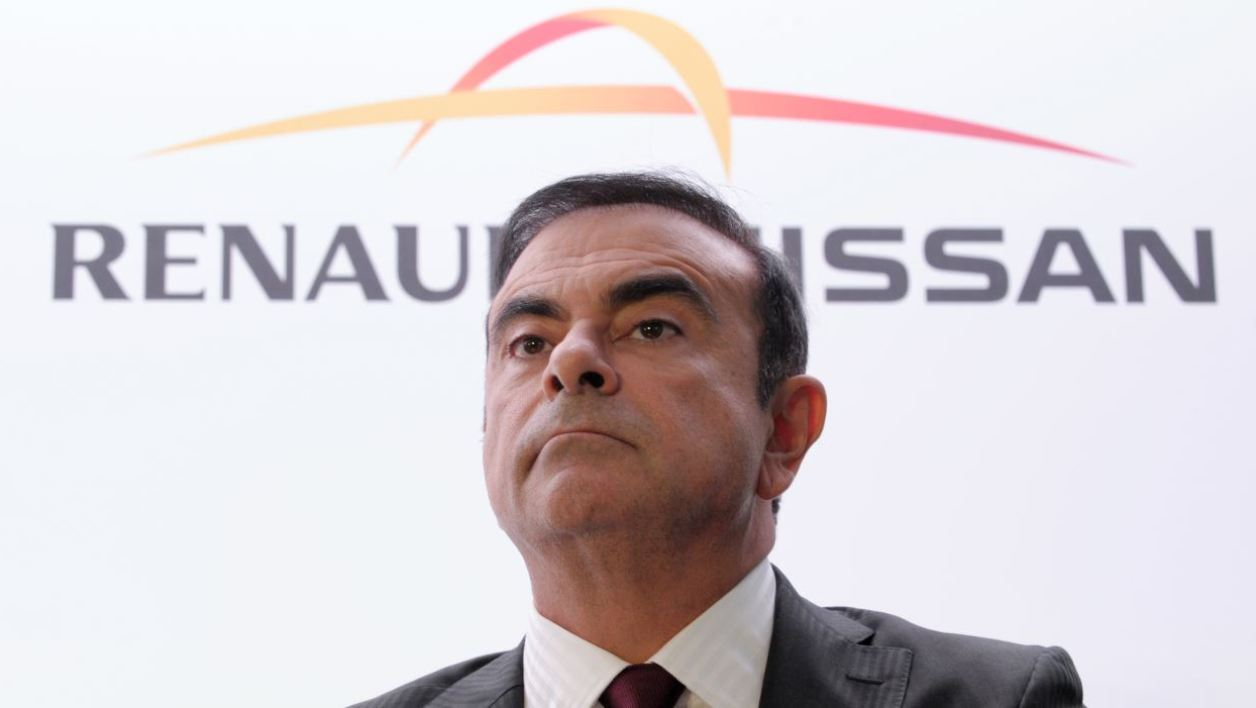Carlos Ghosn, le PDG de l'alliance Renault-Nissan