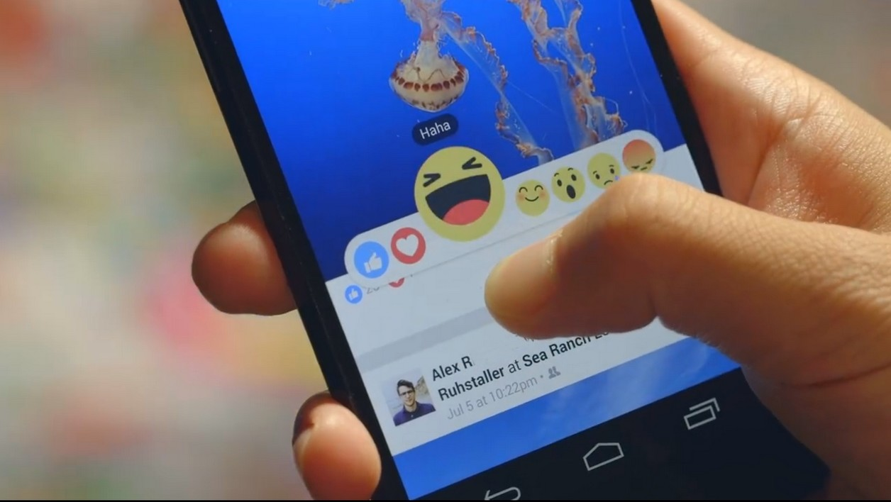 Facebook lance le test de six réactions en plus du bouton J'aime