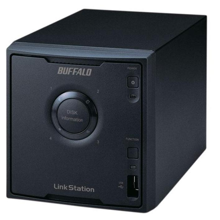 Buffalo LinkStation Quad avec BitTorrent - 4 To