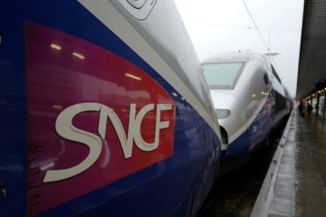 Deux TGV en gare (PHOTO D'ILLUSTRATION).