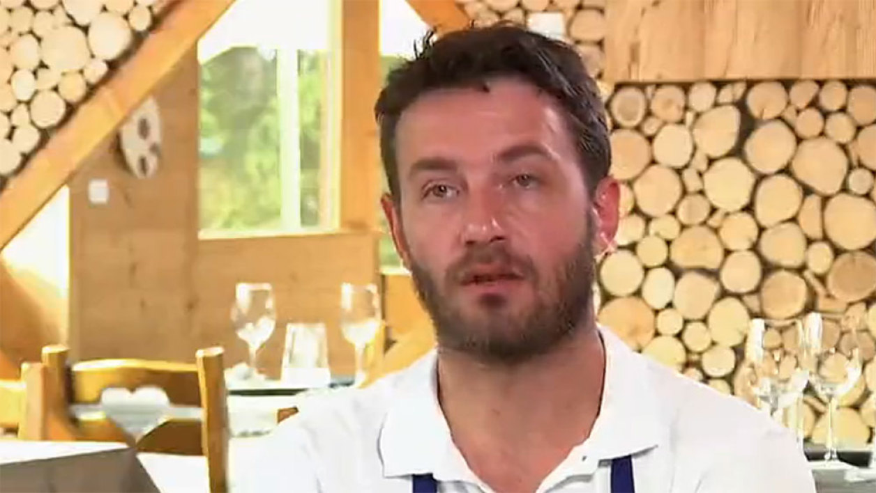 "Julien Machet, candidat de l'émission ""Top chef"""