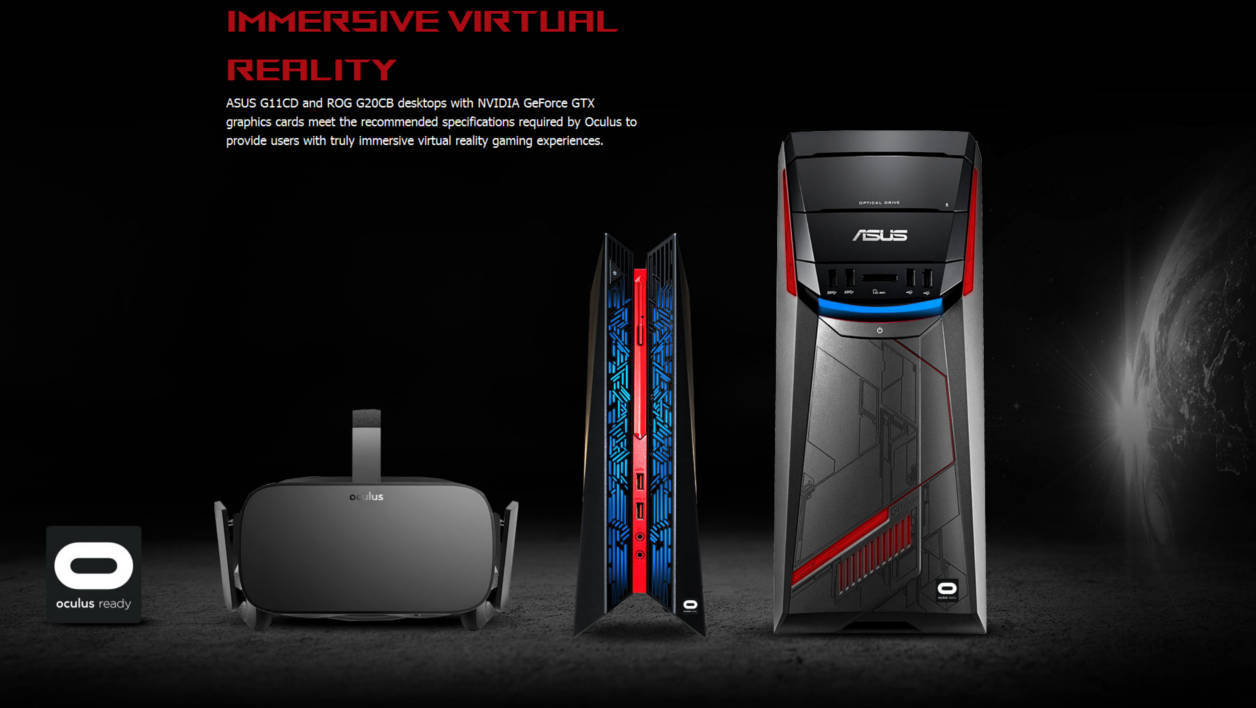 Asus PC Oculus Ready