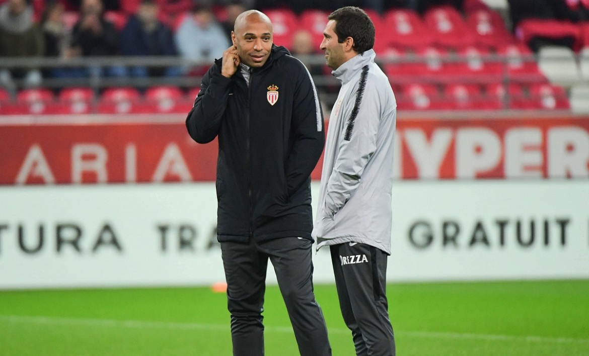 Joao Tralhao et Thierry Henry