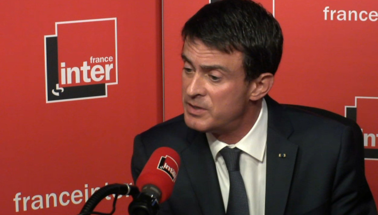 Manuel Valls sur France Inter