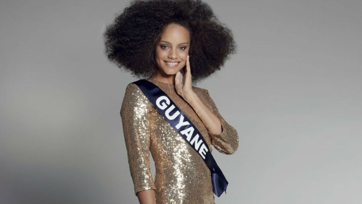 Miss Guyane remporte l'élection de Miss France 2017