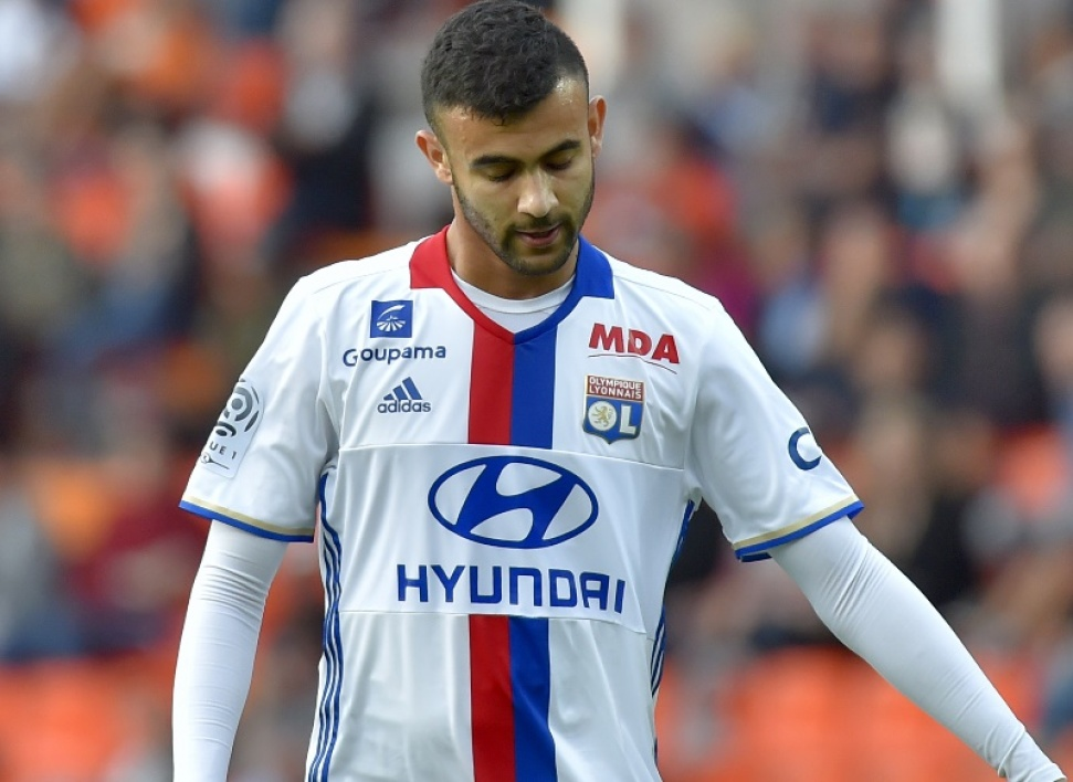 Ghezzal absent trois semaines — OL