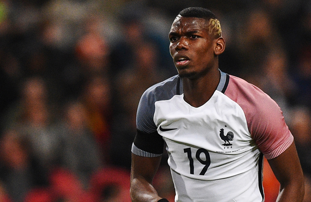 La coupe de cheveux de paul pogba