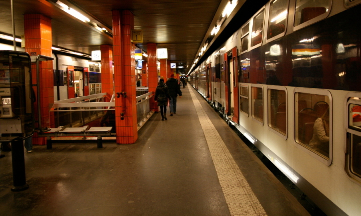 Les quais du RER C. (Photo d'illustration)