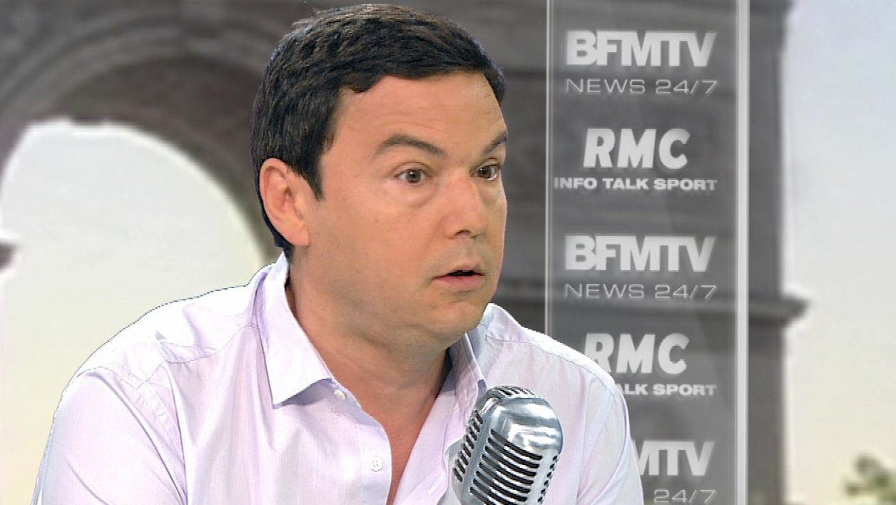 Thomas Piketty face à Jean-Jacques Bourdin: le retweet de l'interview