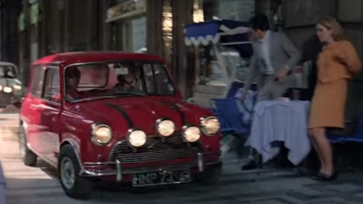 Mini dans The Italian Job