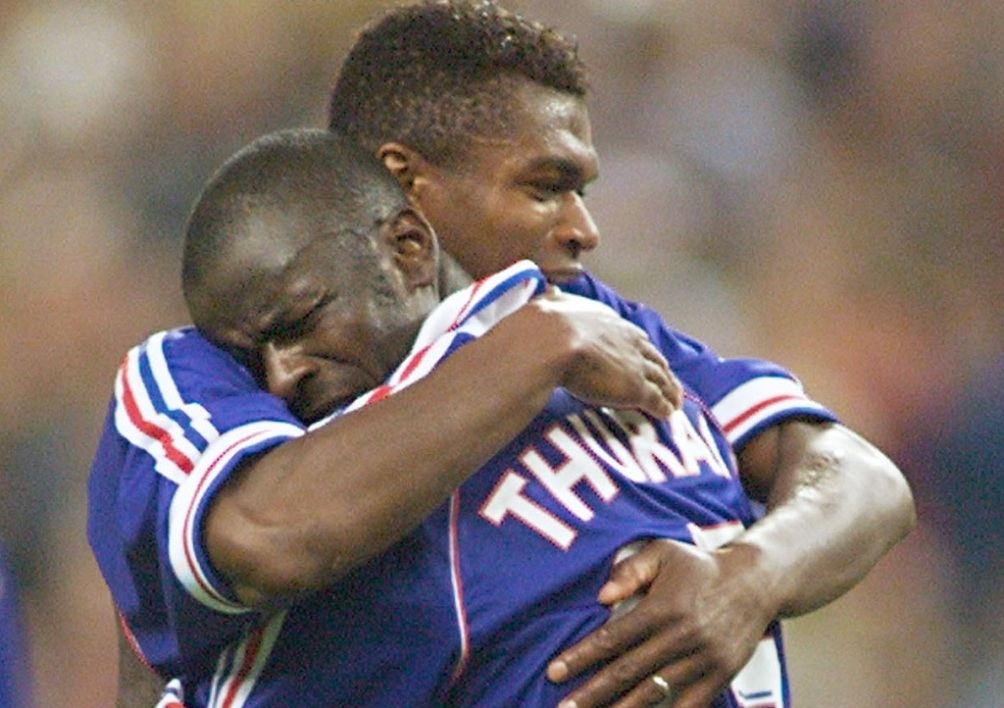 Desailly et Thuram