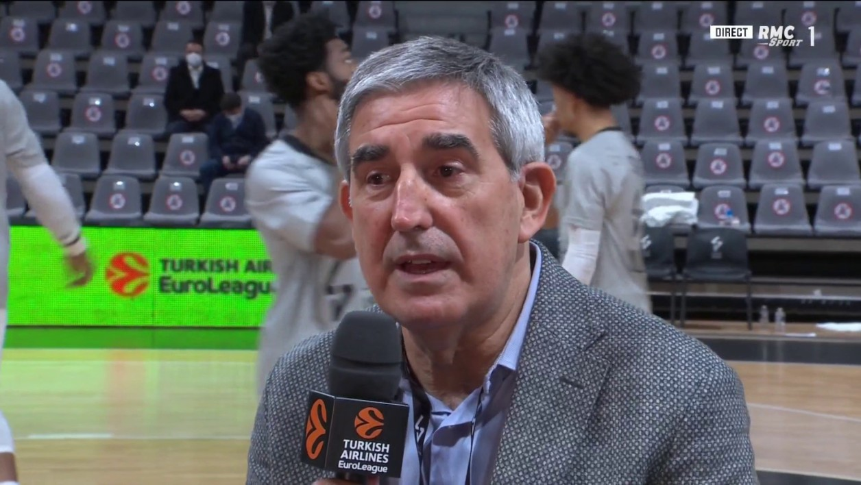 Jordi Bertomeu, patron de l'Euroleague
