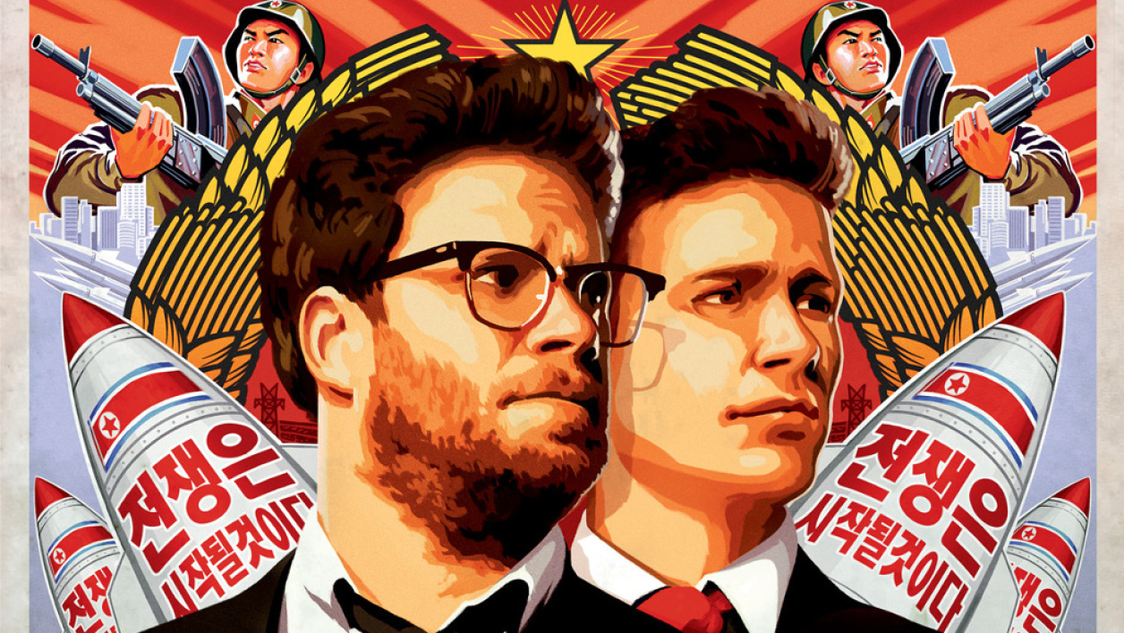 "Affiche de ""L'Interview qui tue"" de Seth Rogen et Evan Goldberg."
