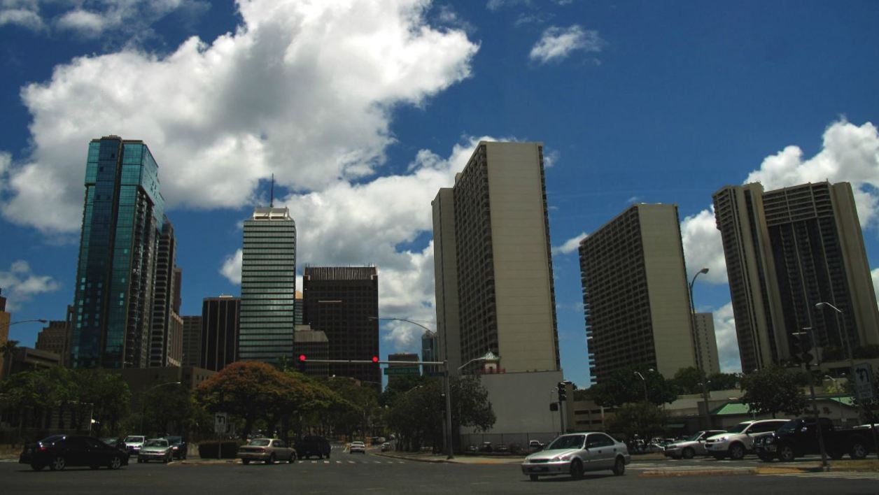 A view of the City of Honolulu on June 15, 2010.