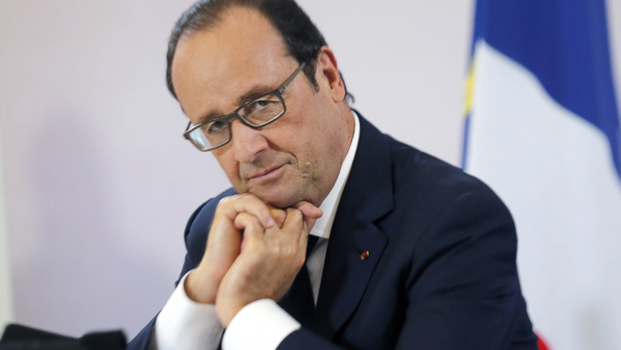 François Hollande le 14 octobre à Paris.