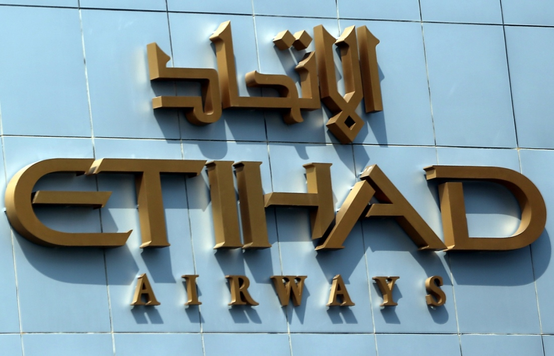 Etihad Airways a profité de l'augmentation du nombre de passagers.