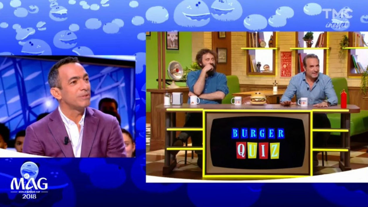 Youri Djorkaeff Burger Quiz