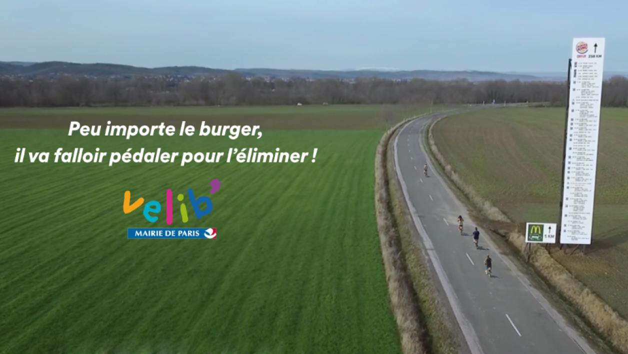 Vélib' rebondit sur le cash McDo vs. Burger King.