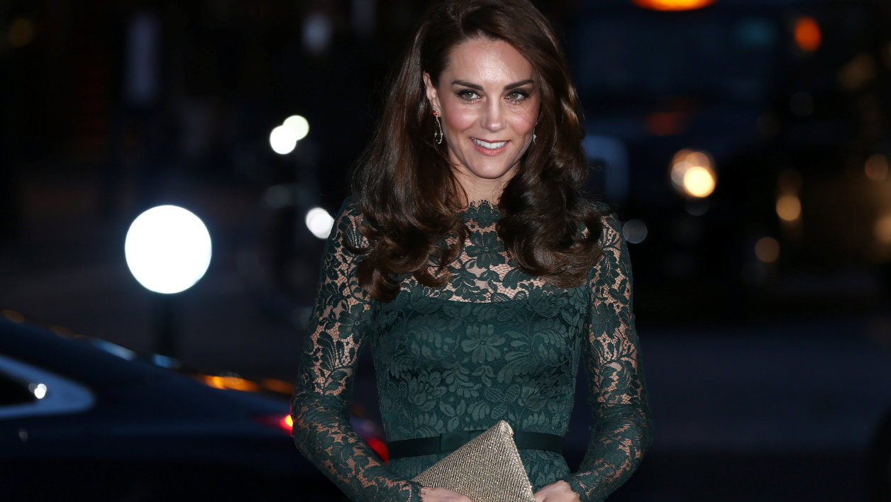 Kate Middleton en mars 2017 à Londres