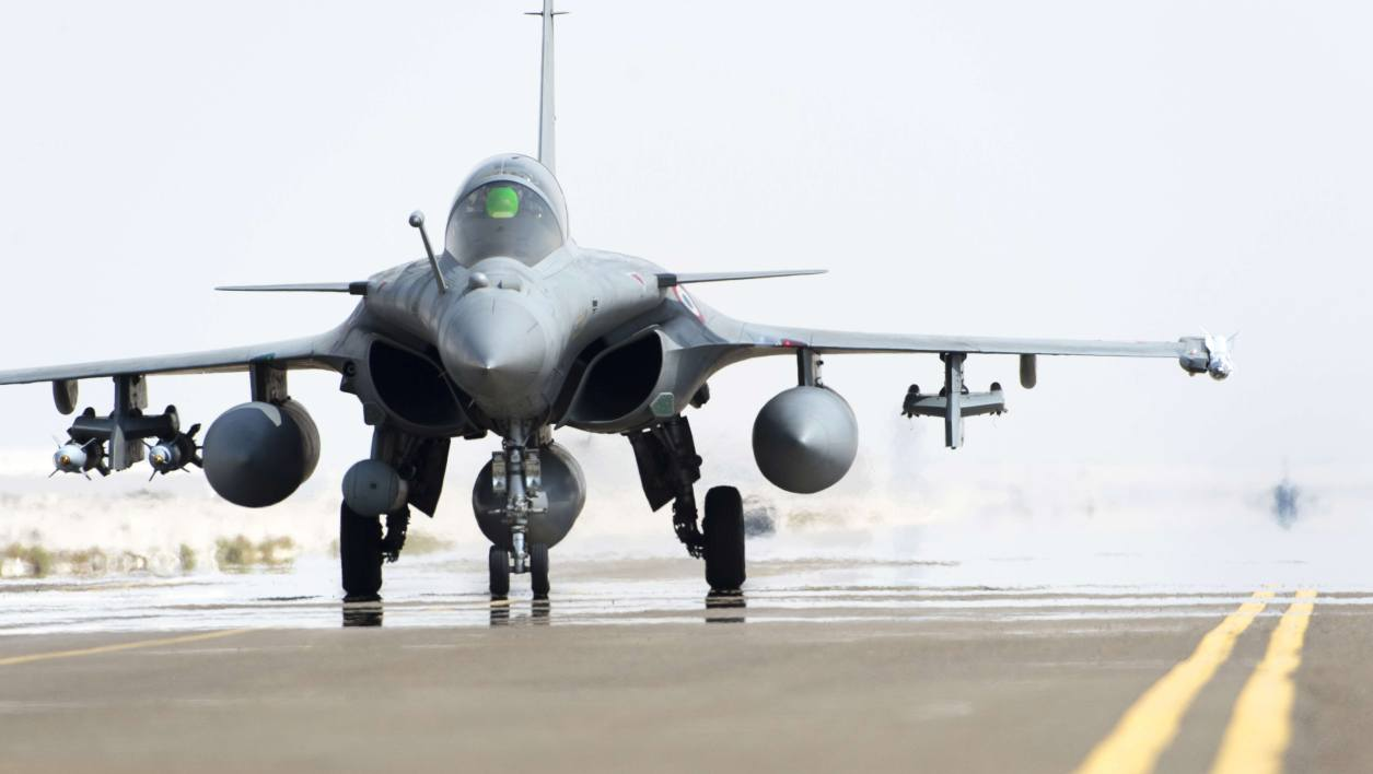 Photo d'illustration d'un Rafale