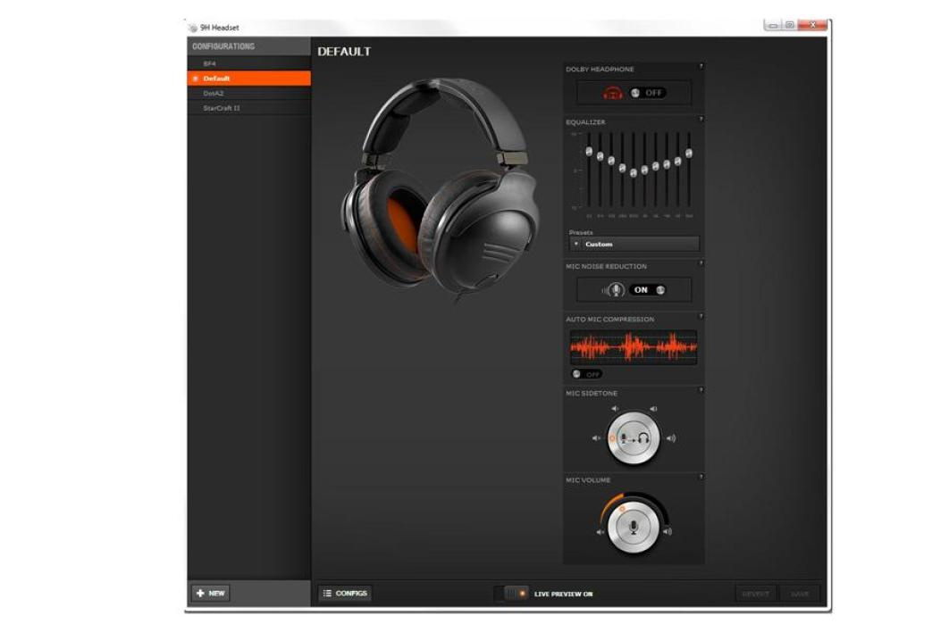 SteelSeries 9H