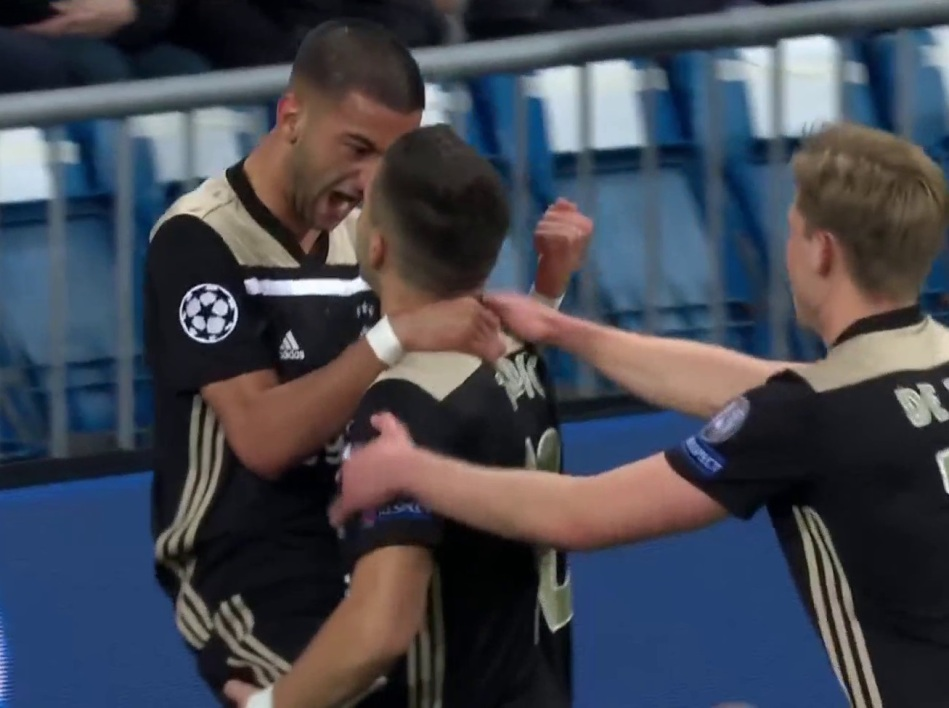Real Madrid-Ajax: le but éclair de Ziyech qui fait trembler le Real