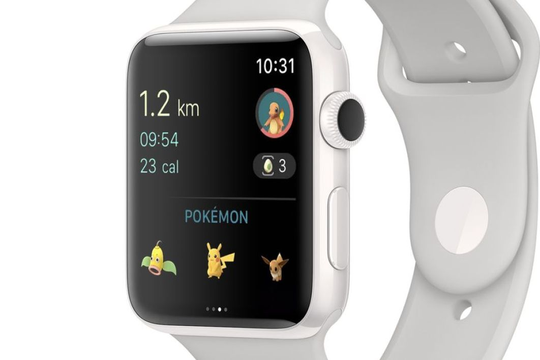 Pokémon GO est maintenant disponible sur l'Apple Watch