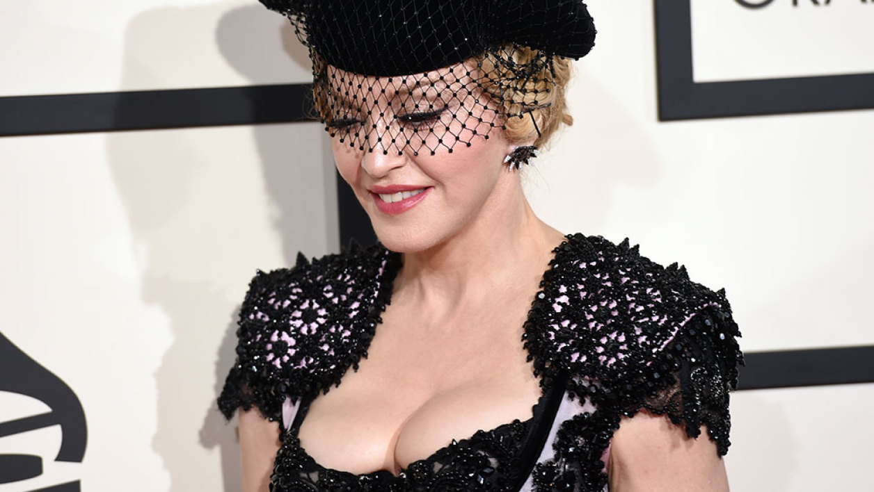 Madonna aux 57e grammy awards