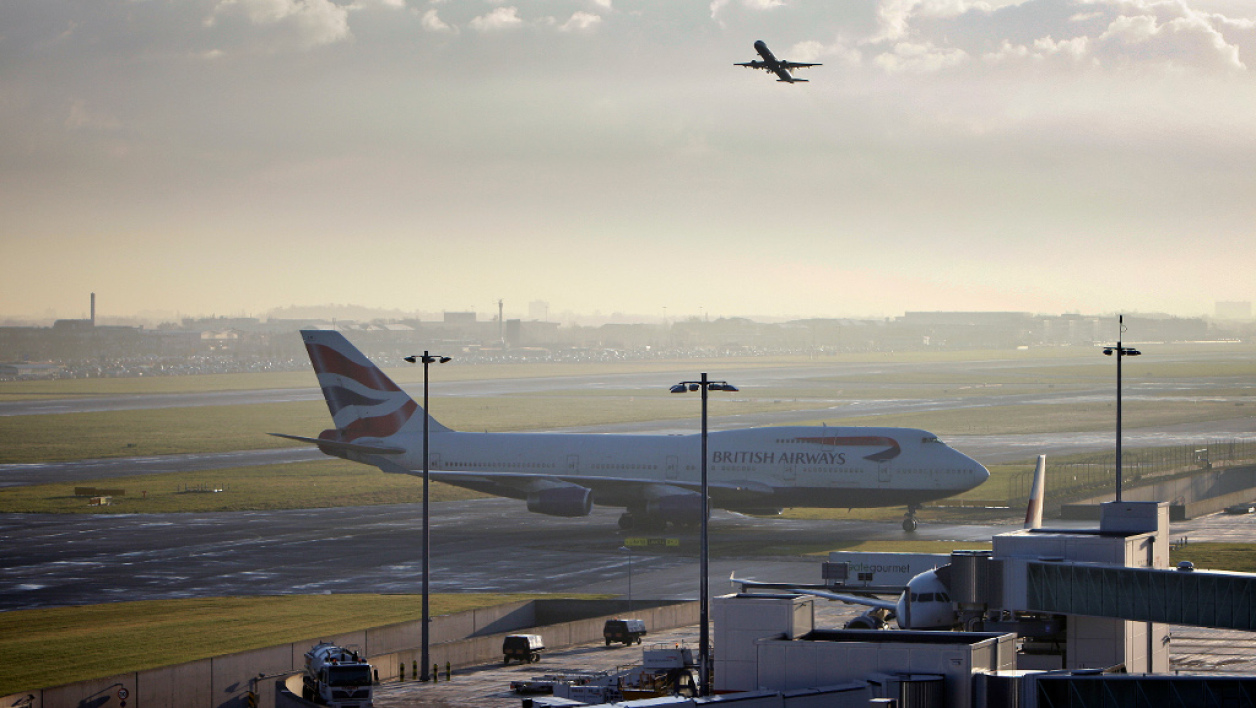 Un avion British Airways à l'aéroport d'Heathrow, à Londres (image d'illustration).