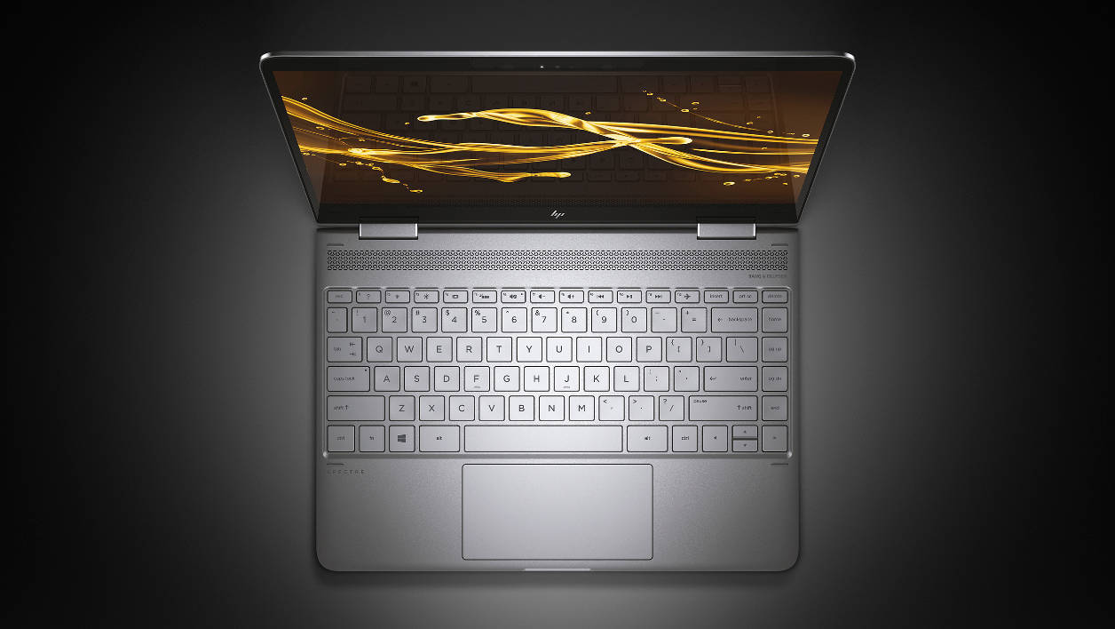 HP Spectre x360 Edge-to-edge screen