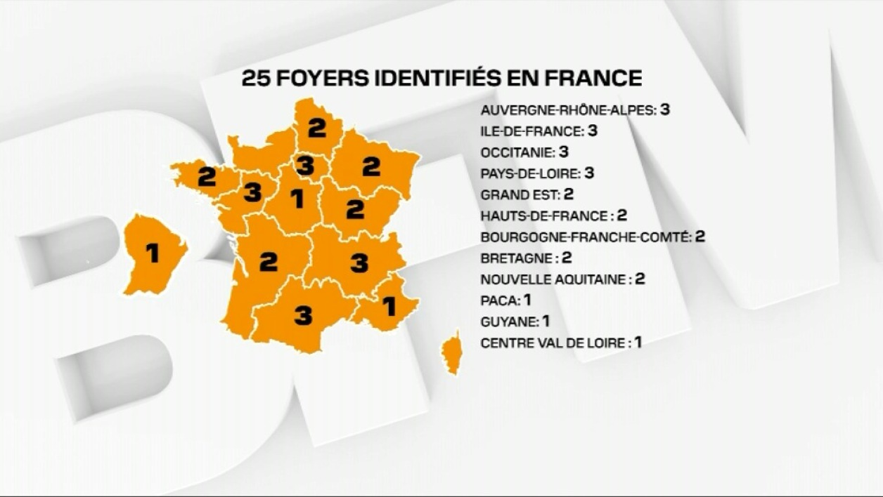 carte 25 clusters