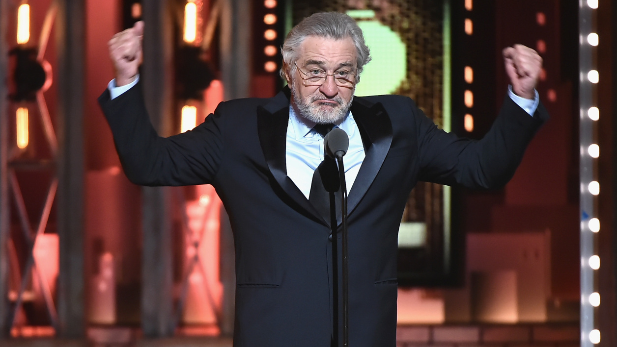 Robert De Niro le 10 juin aux Tony Awards