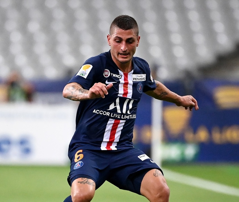 Marco Verratti absent six semaines