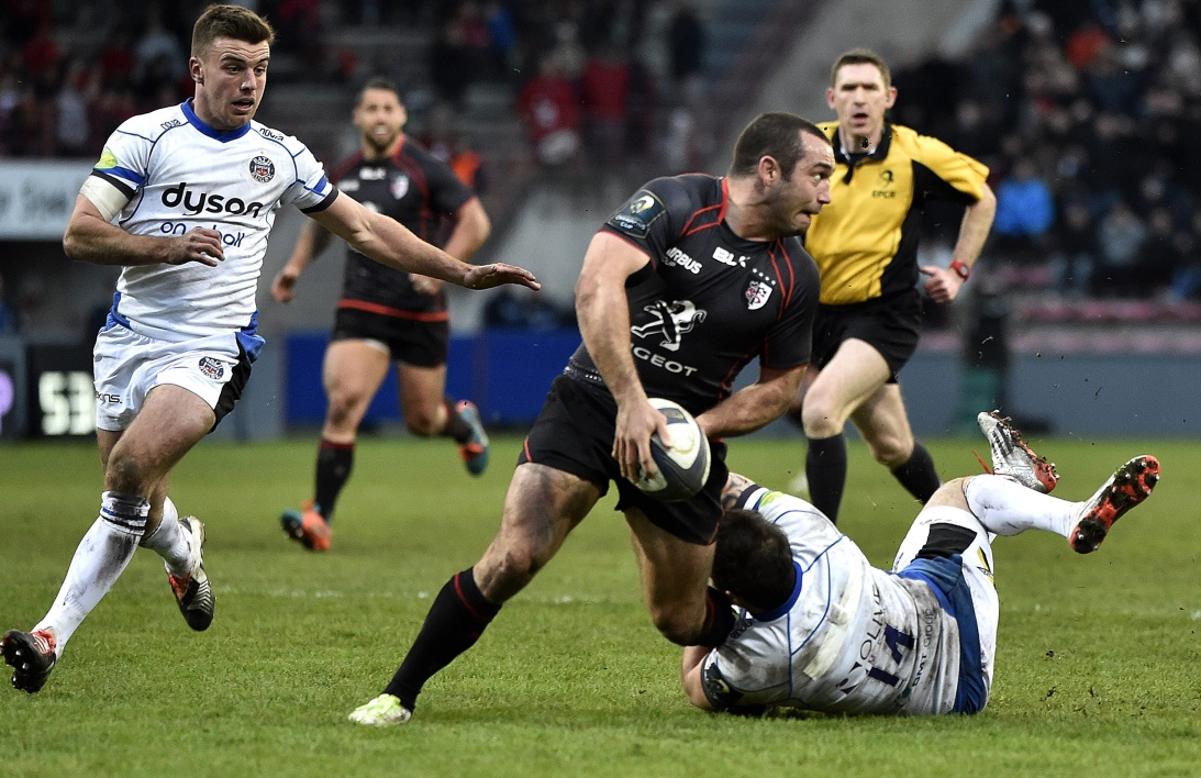 Champions Cup : Bath refroidit Toulouse