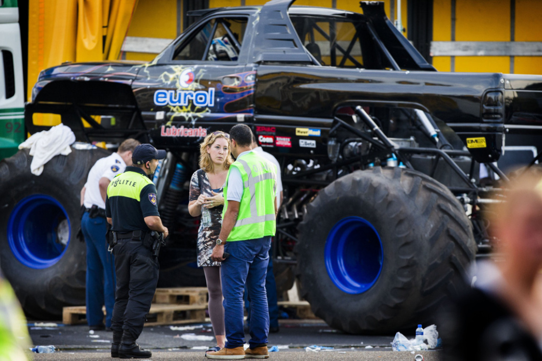 monster truck 4x4 Pays-Bas morts
