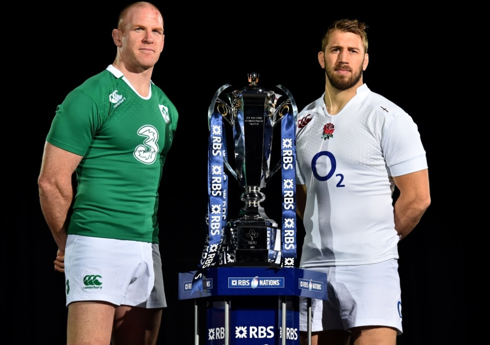 Paul O'Connell et Chris Robshaw